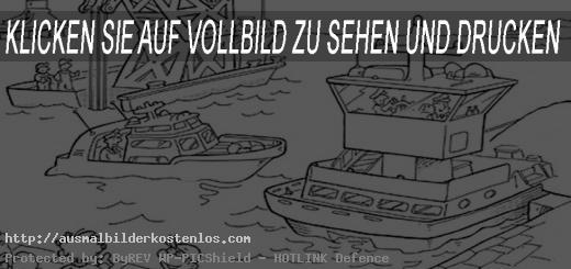 ausmalbilder kostenlos schiffe -6